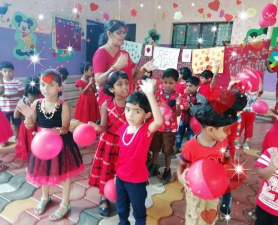 Red Day of KG students 2019