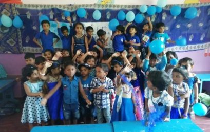 Blue Day of KG Kids 2019