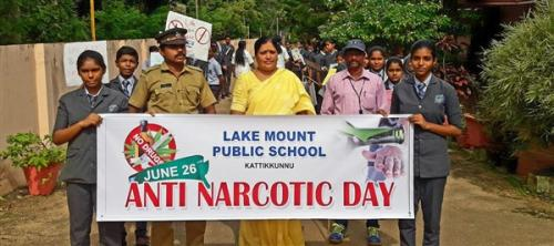 Anti Narcotic Day Rally